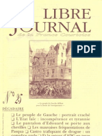 Libre Journal de la France Courtoise N°025