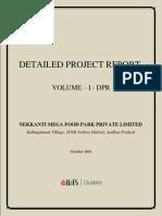 DPR for Nekkanti MFP - Volume-I.pdf