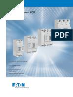 Interruptores termomagnéticos BZM