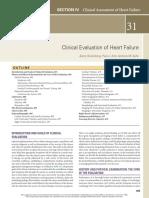 Clinical Evaluation of Heart Failure