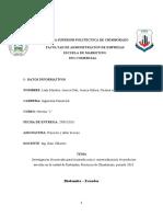 Investigación de mercado para la introducción y comercialización de productos avícolas en la ciudad de Riobamba, Provincia de Chimborazo, periodo 2018..docx