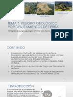 Tema 5_Peligro Geologico_Deslizamiento de Tierra
