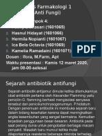 Tugas Farmakologi 1 kelompok 4 2018D ANTIFUNGI.pptx