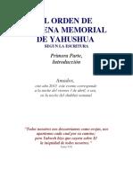EL-ORDEN-DE-LA-CENA-MEMORIAL-SEGUN-YAHUSHÚA-1ERA-PARTE