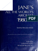 John W. R. Taylor - Jane's All the World's Aircraft 1980-81-1980