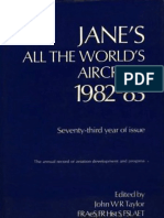 John W. R. Taylor - Jane's All the World's Aircraft 1982-1983 - 1982