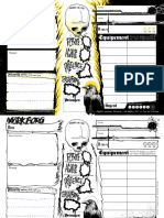 MBC - French Character Sheets