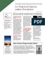 Red River Pulpwood Queens December Newsletter