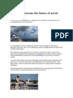 Are drone swarms the future of aerial warfare
