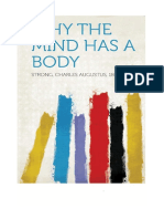 why mind has a body