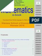 An Matbook matematyka SGH podstawowa