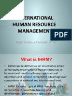 L5 INTERNATIONAL HRM