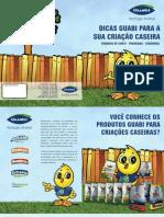 Manual Criação Caseira site