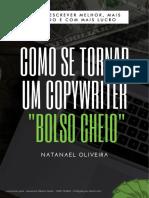 Escritor de bolso cheio