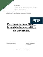 Trabajo Proyecto Democrático y Realidad Sociopolítica..docx
