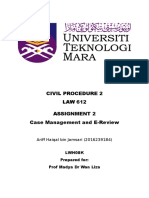 Assignment 2-Case Management, E-Review.docx