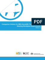 mea companion volume meeting workplace requirements