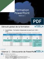 Formation PowerPoint AGECA - Séance 1