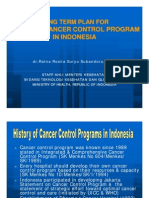Long Term Plan for National Cancer Control Program in Indonesia