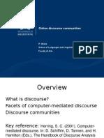 CMC wk02 discourse