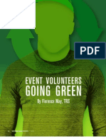 Event Volunteers Going Green - Florence May
