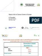 Status of Art of Cancer Center in Europe