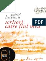 Gabriel Liiceanu Scrisori Catre Fiul Meu