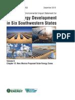 Solar DPEIS NewMexico SEZs