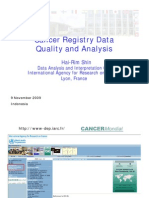 Cancer Registry Data Quality and Analysis