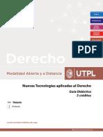 GUÍA NUEVAS TECNOLOGÍAS (Abril _Agosto 2019)