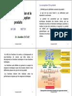 La fonction conception et le processus de conception