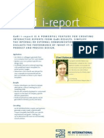 GaBi i Report Sustainability Software