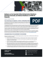 Homeland Security critical infrastructure jobs