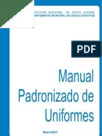 ANEXO IV Manual Padronizado Uniformes