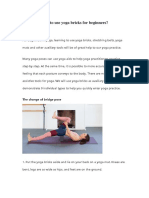 How to Use Yoga Bricks for Begginner
