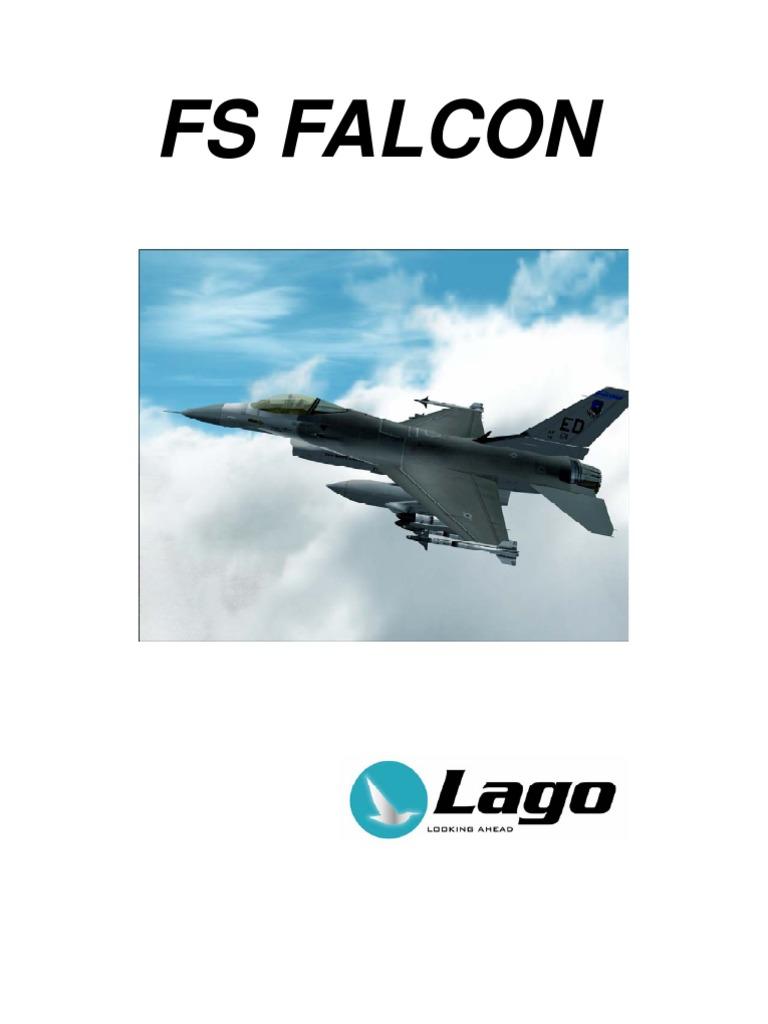 FS Falcon_Manual | General Dynamics F 16 Fighting Falcon