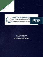 Glosario de términos Astrocongress