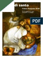 Triduo Pasquale - Giovedì santo - anno A - 2020 - Preghiera in Famiglia