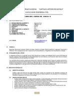 SILABO DE FISICA II 2014-I FIC