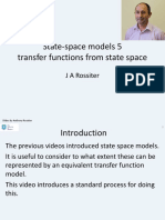 state space 5 - transfer function models from a state space