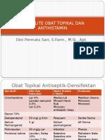 SPESIALITE OBAT TOPIKAL DAN  ANTIHISTAMIN-2