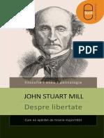 John Stuart Mill Despre Libertate