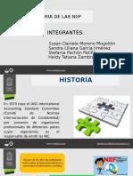 HISTORIA NIIF Y ESTADO DE RESULTADOS
