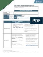 Formato Guia Didactica Mediacion Tecnologica Modulo Razonamiento Matematico