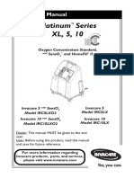 Invacare Platinum Series - Operator's Manual