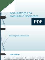 Administração da Produção e Operações AULA 05