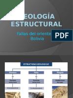 Geología estructural fallas
