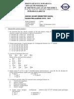 Soal Kimia Uas Utama (Up Pload)