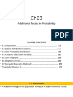 ch03 Additional Topics in Probability