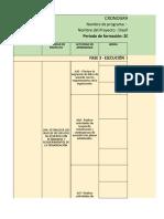 Cronograma Fase 3 Ejecucion